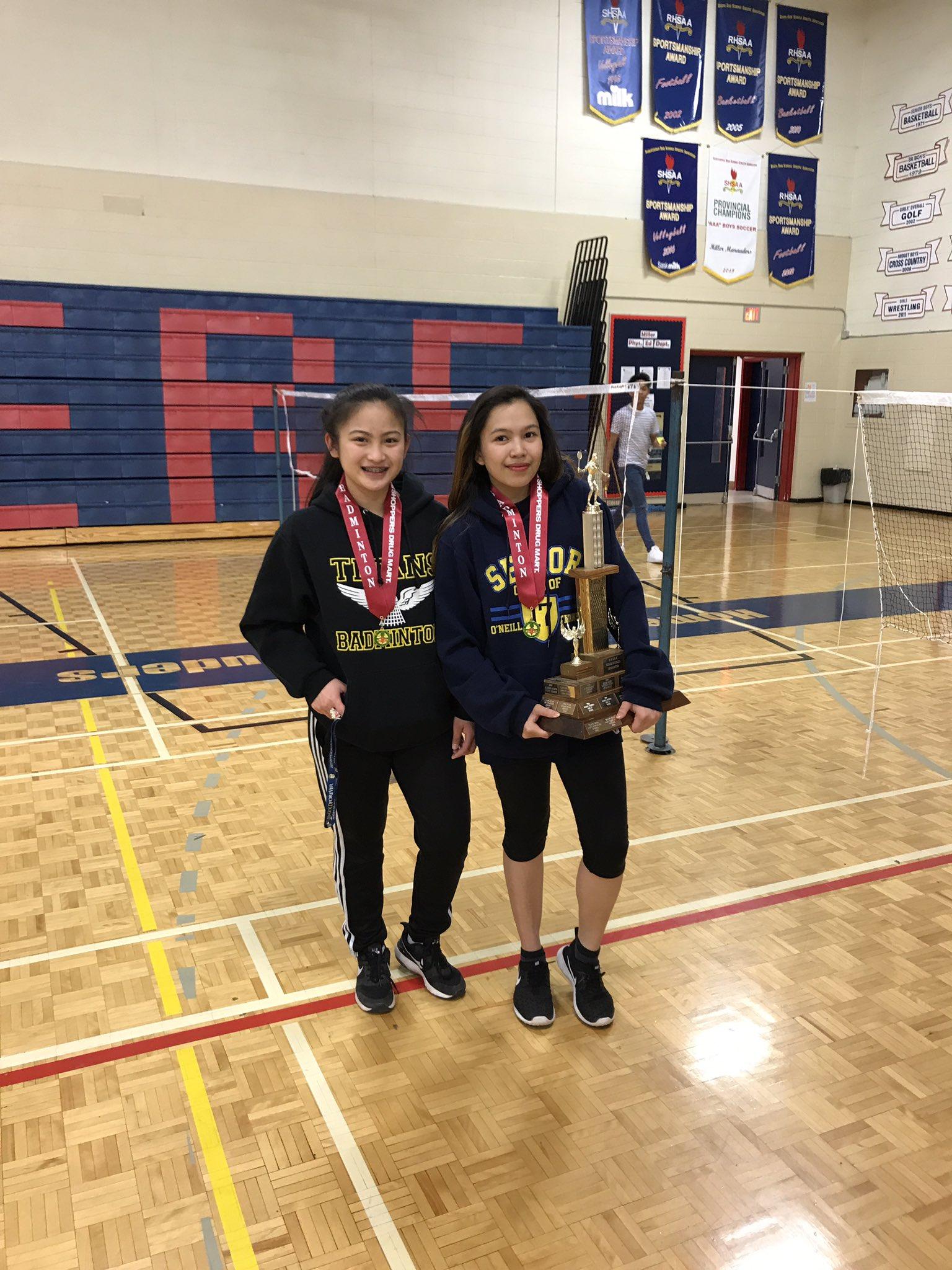 Congratulations O'Neill High School on winning the Girls Doubles Title!! https://t.co/MNCkFUVqNZ