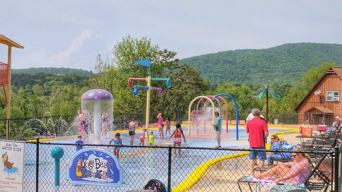 Jellystone ParkTM On Twitter Guess What We Did Today 92 Degrees