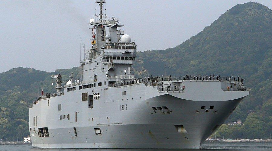 Un porte-hélicoptères français arrive au #Japon pour des exercices militaires https://t.co/fovMU0GXnH