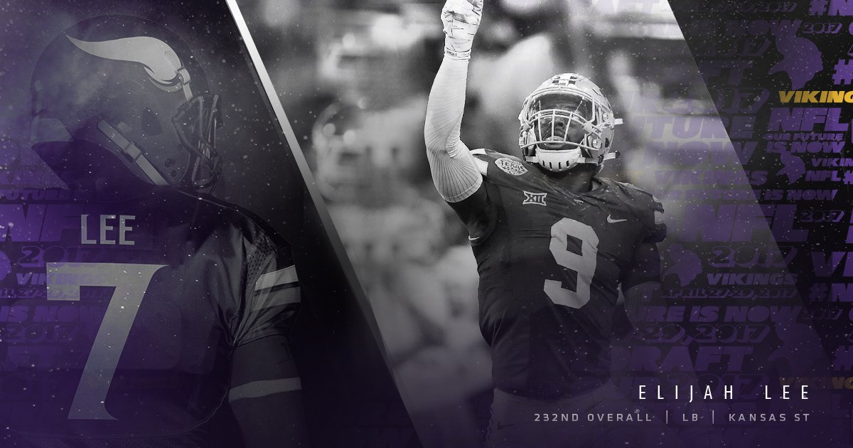 Welcome to the #Vikings, Elijah (@elee_doubleace)!<br>http://pic.twitter.com/5QLkbBnz6C