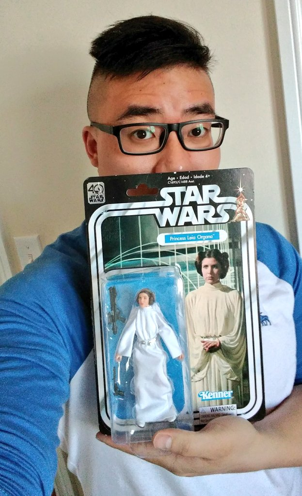 Nothing like going on a @starwars toy hunt! Today&#39;s haul 4 the collection: 40th Anniversary #PrincessLeia &amp; #THRAWN  #StarWars @HasbroNews<br>http://pic.twitter.com/TZQqF3CjU8