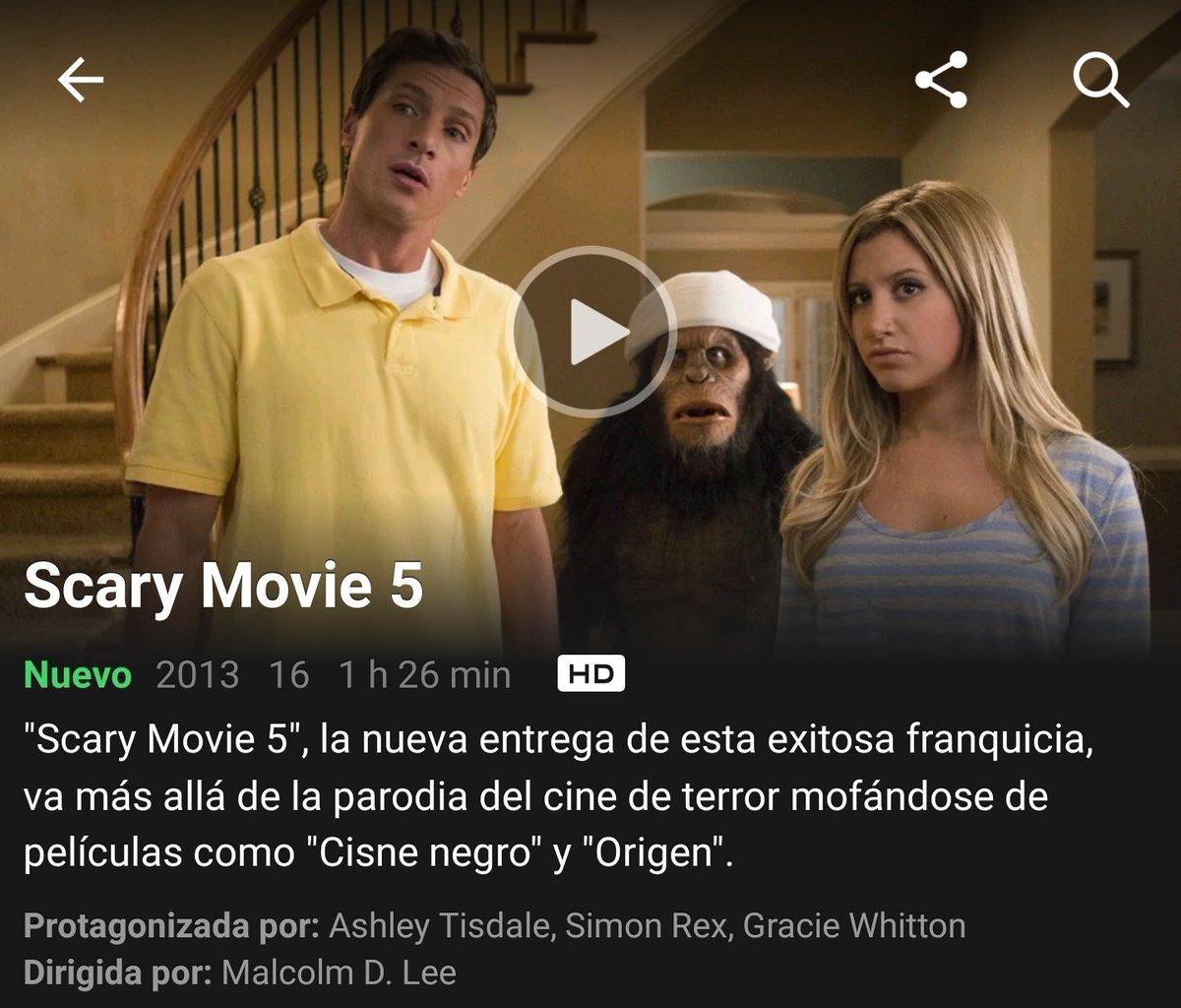 Gallo De Netflix On Twitter 30 4 17 Scary Movie 5 2013 Https T Co A9y86lrb1w