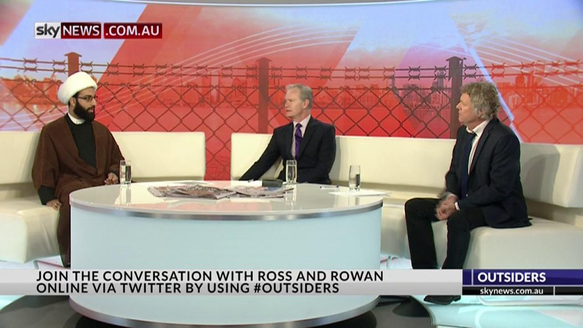 Sheikh Mohammad Tawhidi says he has basically been told he is 'too Australian to be an Imam' #Outsiders