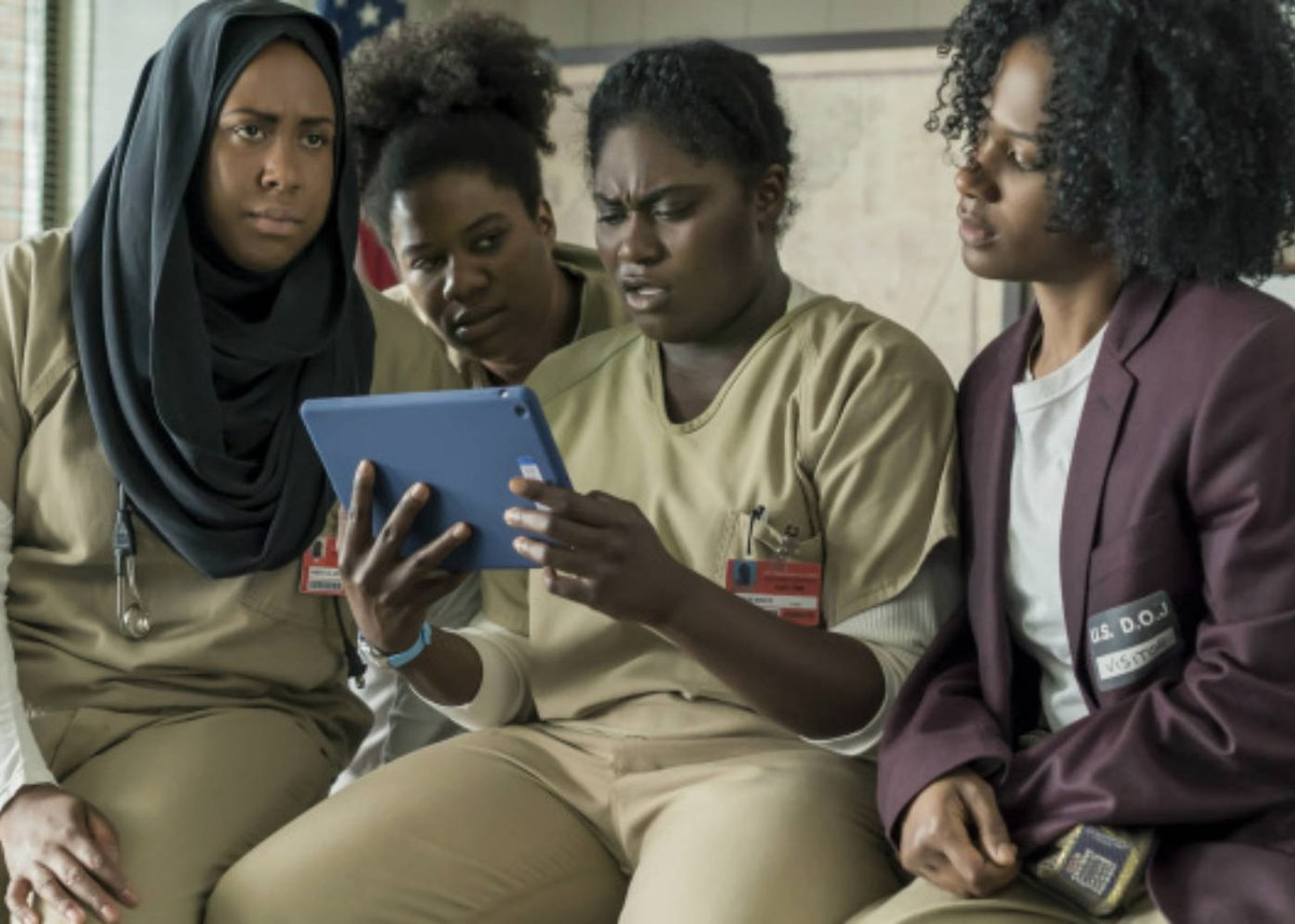 "From GeekFeed! @NightRTs @DNR_CREW: Orange is the New Black Series 5 held hostage by ""The Dark Lord""...  http:// twib.in/l/zrX8noaXkpzp  &nbsp;   #geek #blog<br>http://pic.twitter.com/Hch8kowOb7"