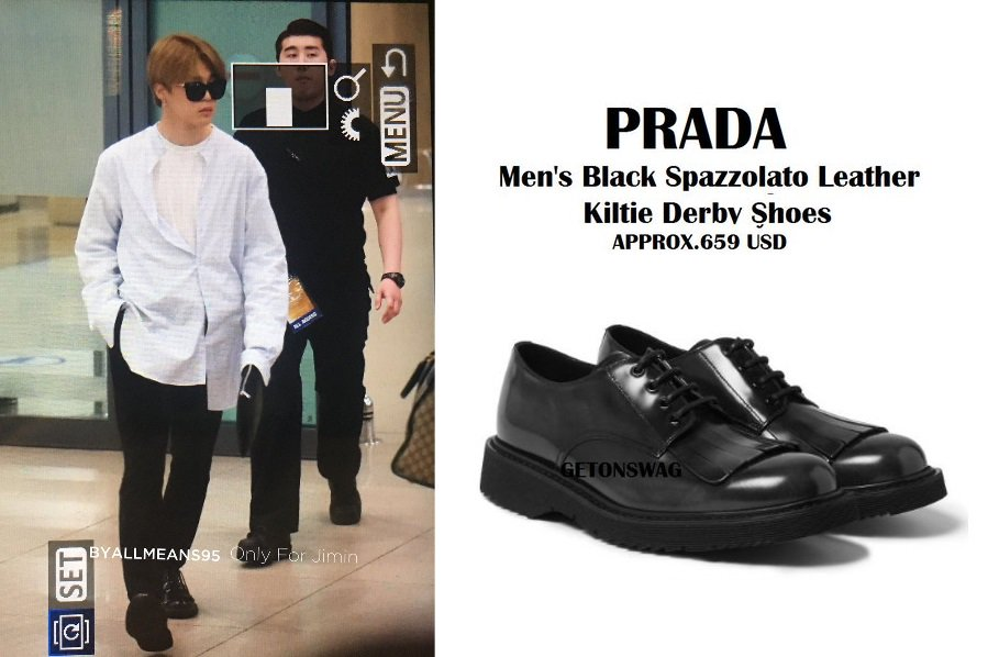 Prada White Dress Shoes