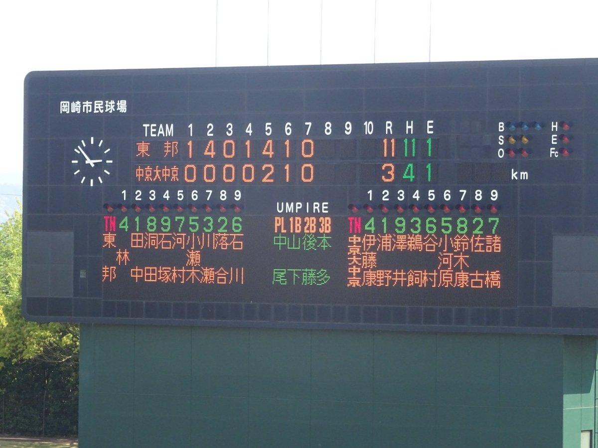 野球 中京 大 部 掲示板 中京