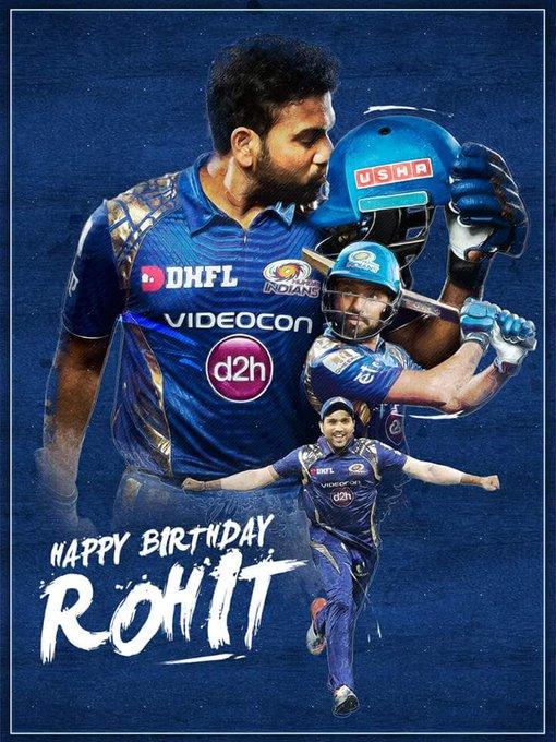 wish u very happy birthday rohit sharma