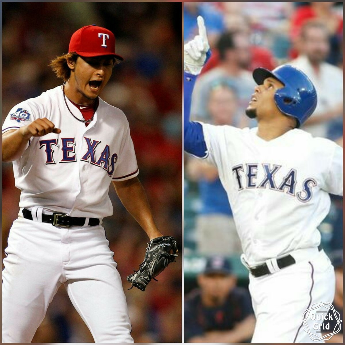 HELLO WIN COLUMN!! Great night @faridyu  and @RealCarlosGomez!! Love our @Rangers. #YU #GOGO #LONESTARGRIT #NEVEREVERQUIT #RANGERSNATION <br>http://pic.twitter.com/6Kb9gouSPs