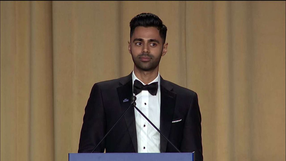 .@hasanminhaj: 'Jeff Sessions couldn't be here tonight - he was busy doing a pre-Civil War re-enactment.' #WHCD #WHCD20172017