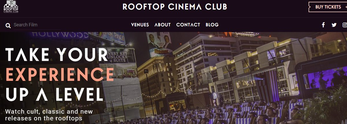 Next Level in #Cinema. Watch Your Favorite #Movies on the Rooftops  http:// ow.ly/uo3d30bayM1  &nbsp;   @RooftopCinema @AkashaGarnier @LastHurrahFilm #LA<br>http://pic.twitter.com/8OceUcntGg