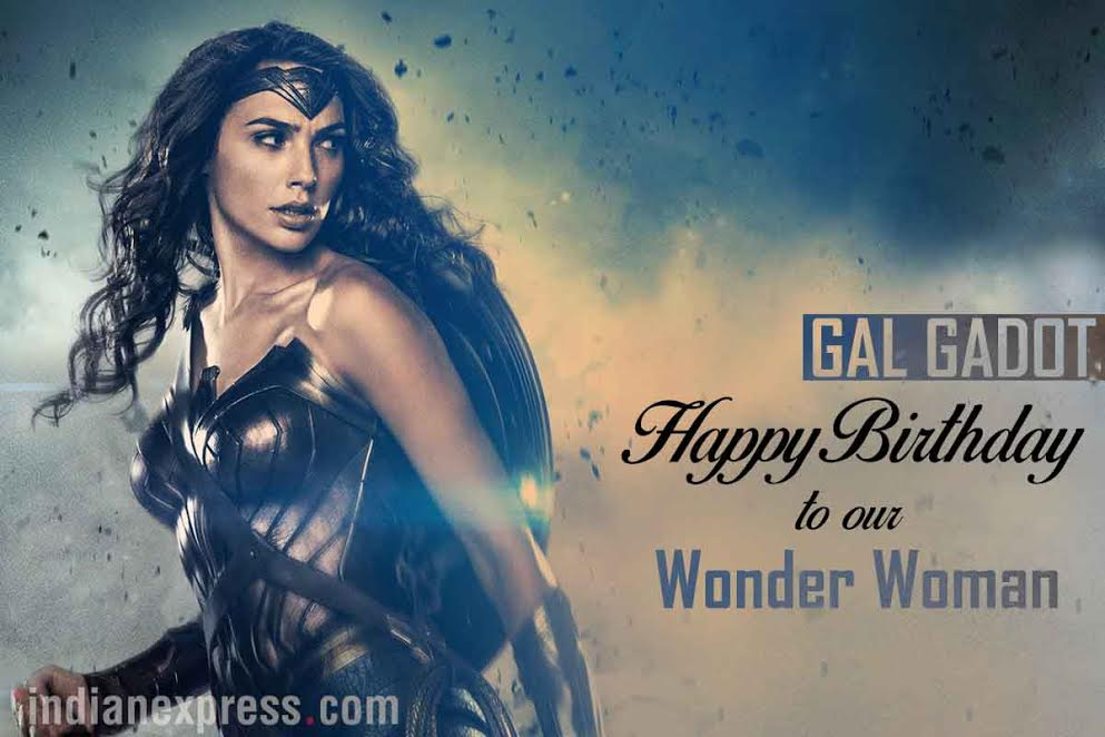 Join Us In Wishing Our Wonderwoman Galgadot A Happy Birthday