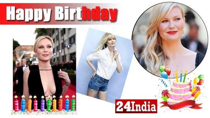 Happy Birthday to American actress Kirsten Dunst -