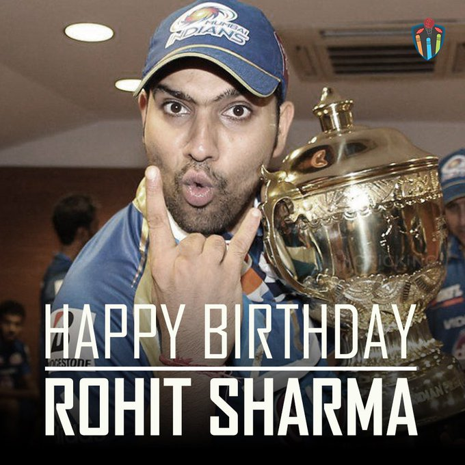 Happy Birthday Rohit Sharma. The Indian cricketer turns 30 today.