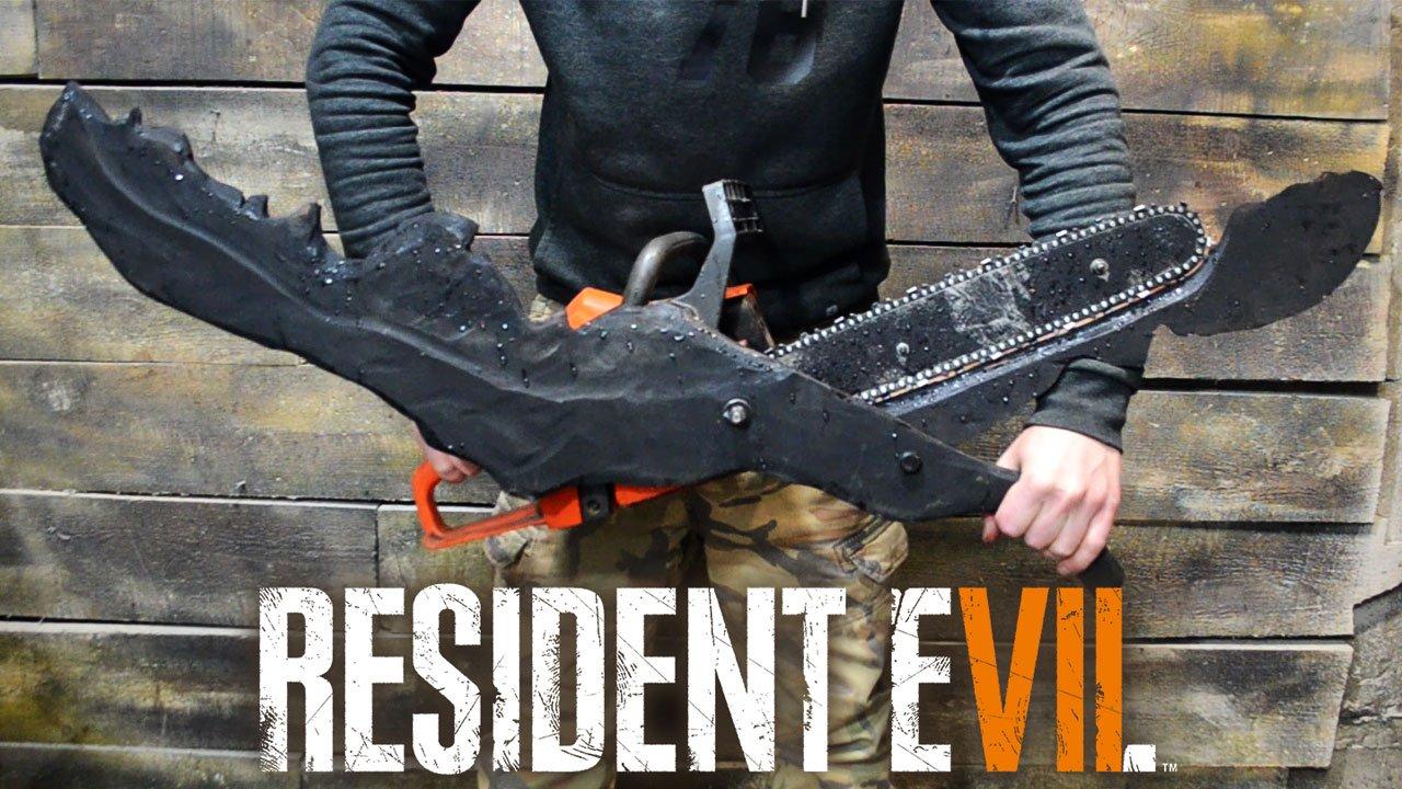 Goryashchiyeklyuchi On Twitter Resident Evil 7 Chainsaw Scissors