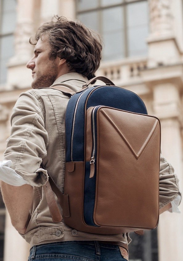 Backpack for Valôme, a French designer brand. Read More :  http://www. i-magazine.tv  &nbsp;   #imagazine #fashion #menstyle #tech #style #lifestyle #mag<br>http://pic.twitter.com/JMP4WPg6xU
