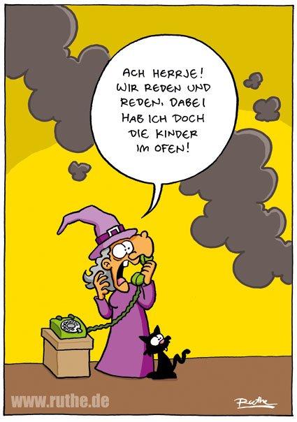 Wie gesagt: Heute ist Walpurgisnacht.