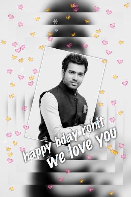 Happy bday rohit sharma