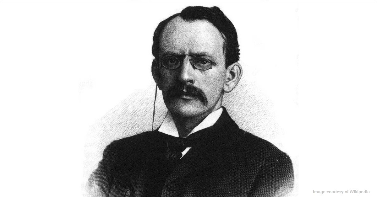 Sir Joseph J. Thomson announced the discovery of the electron #onthisday in 1897 https://t.co/o48j9Eso6B https://t.co/UIgco1q1Yp