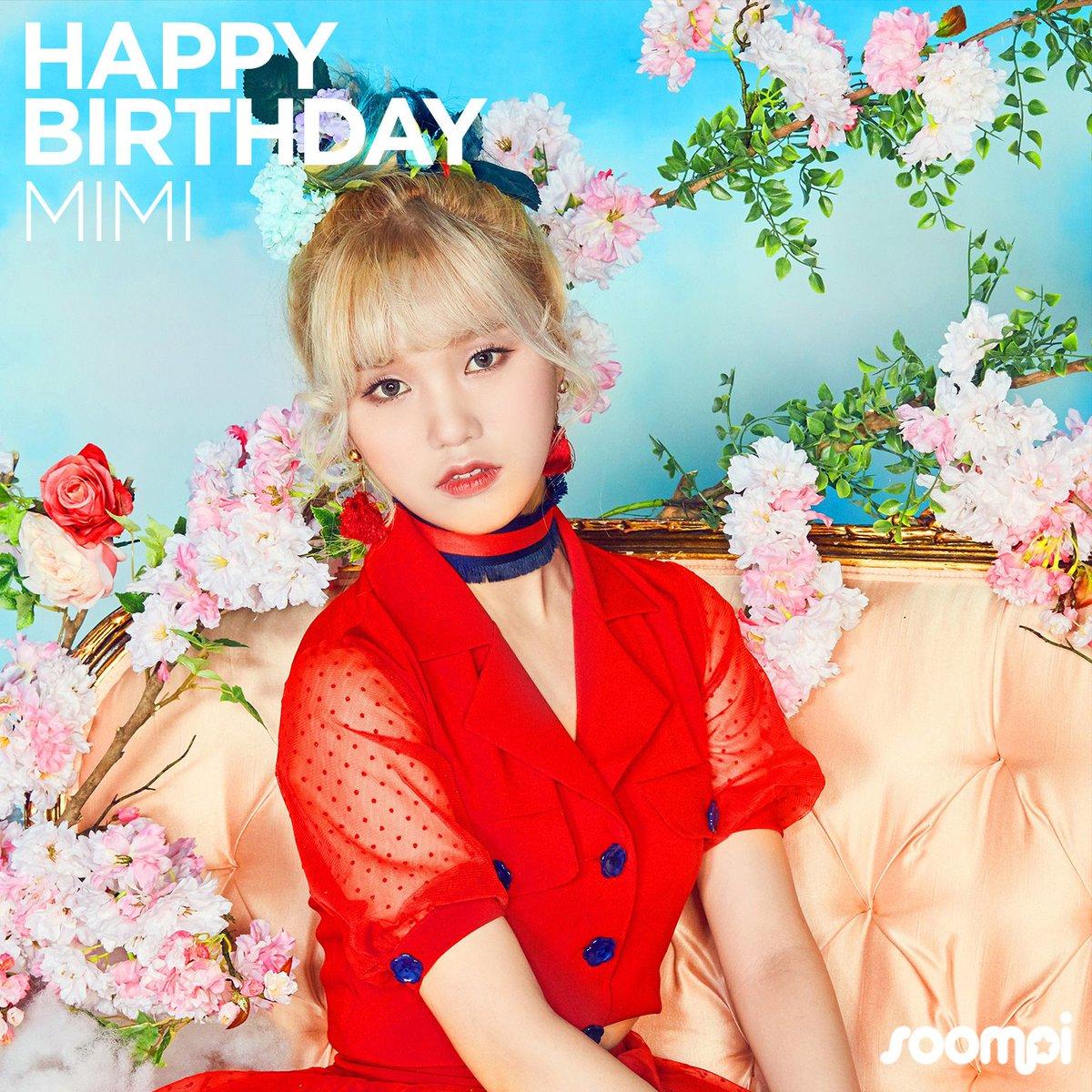 Happy Birthday to #OhMyGirl's Mimi! #HappyMimiDay https://t.co/1vJqnzp...
