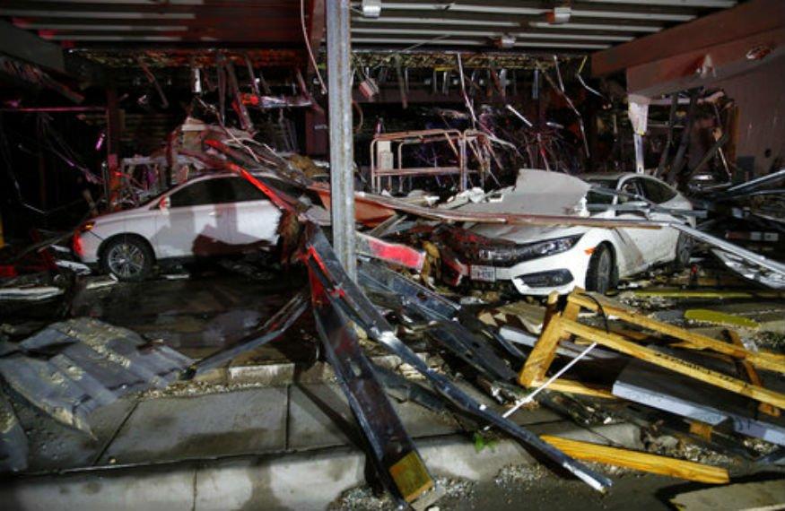 Stati Uniti, forte tempesta e numerosi tornado in Texas