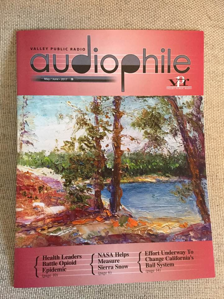Stoked to be on the cover of Valley Public Radio's Audiophile Mag! Thanks guys! https://t.co/IvCGVtftZ7