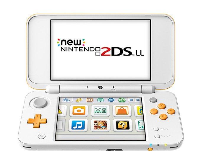 任天堂から「Newニンテンドー2DS LL」発売 - 3DS LLと同一サイズの液晶で軽量化 - https://t.co/hH6CvUzRac