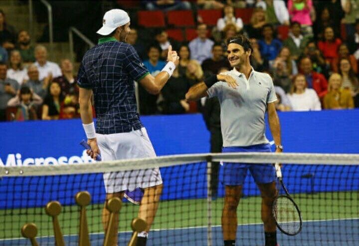 Shoutout to @JohnIsner for helping make Match for Africa a success last night in Seattle �� https://t.co/m5CnUfb7cT