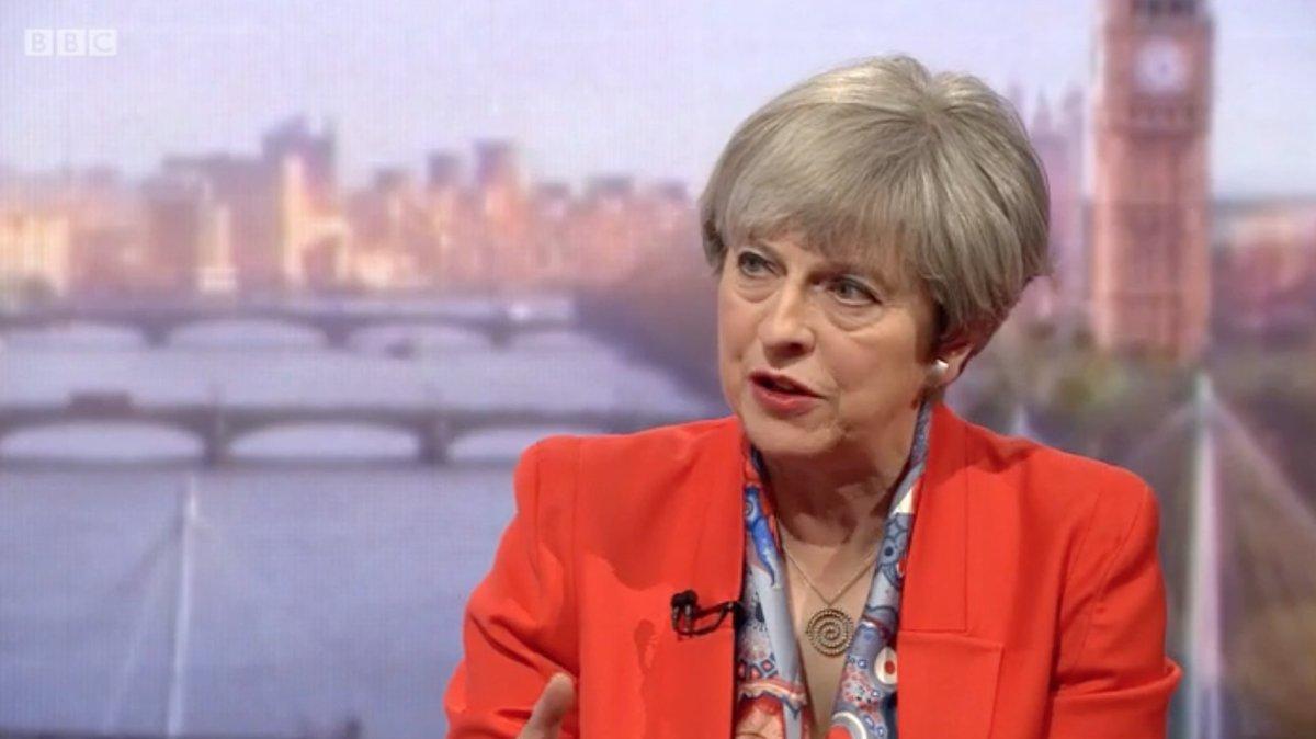 Theresa May Food Banks Nurses