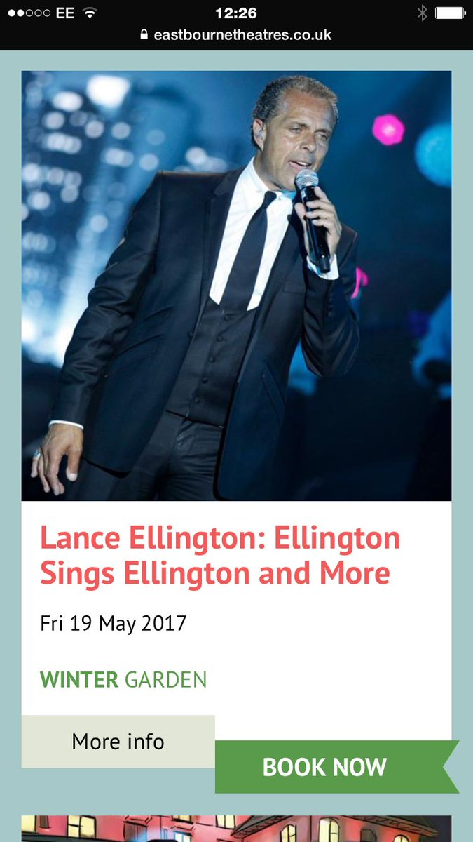 lance ellington on twitter
