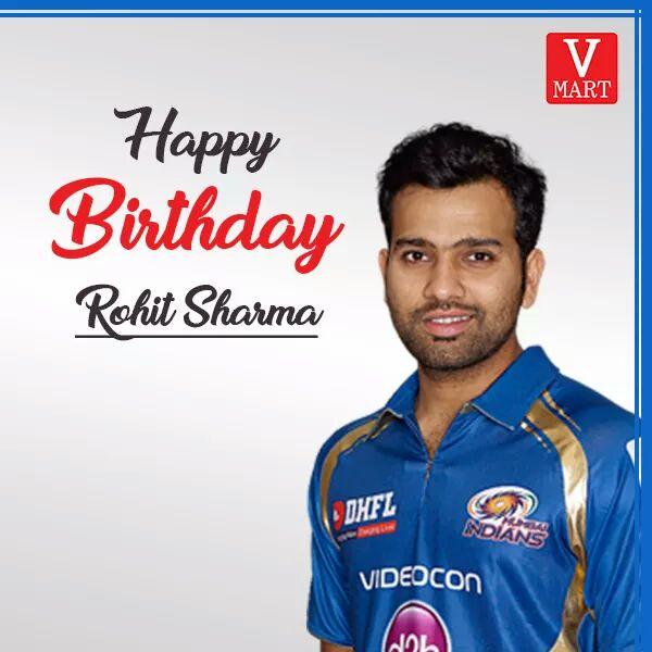 Wish you Happy Birthday Rohit Sharma