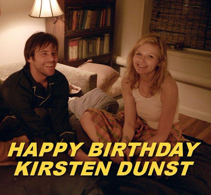 HAPPY BIRTHDAY | Kirsten Dunst