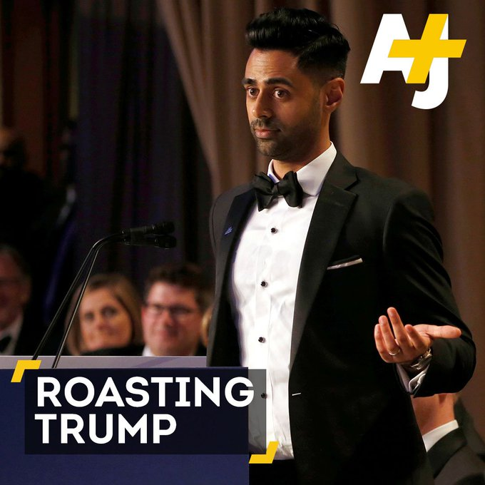 With a roast like this, no wonder President Trump didn't turn up to the Correspondents' Dinner.