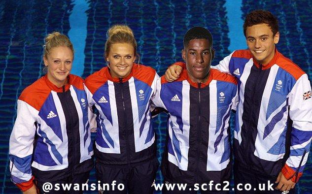 BREAKING: Marcus Rashford selected for Team GB Diving Team