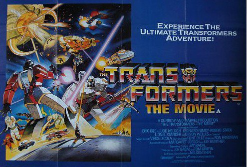Throwback Theater: Transformers: The Movie (1986) - You got the touch!...