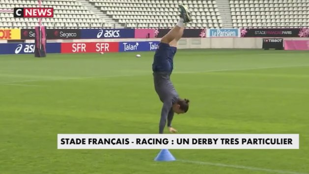 #Top14 : Attention à la chute ! #Derby #Rugby @SFParisRugby @racing92 https://t.co/HEBgnD1iVU