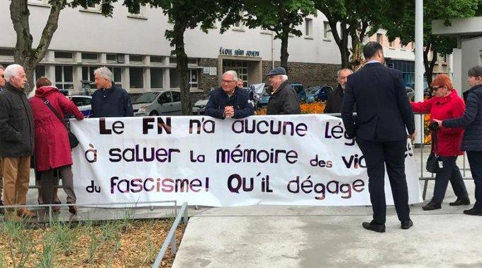 Saint-Nazaire. Le FN contraint de quitter l'hommage aux Déportés https://t.co/YdluAIRZ7V