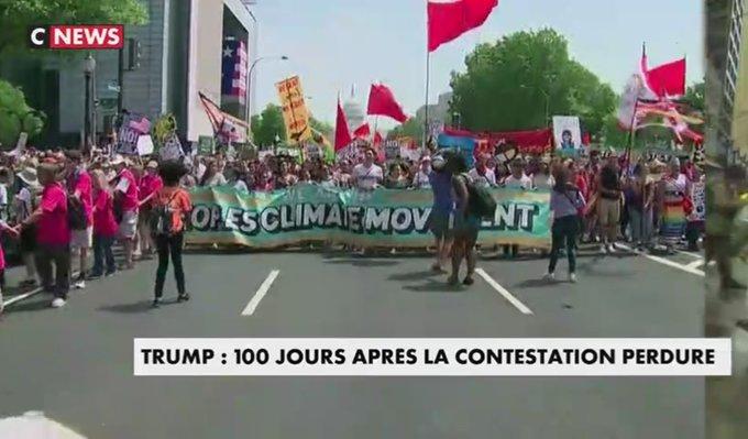 Aux #USA, démocrates et écologistes toujours vent debout contre Donald #Trump après ses 100 premiers jours  https://t.co/JM7fFw442y