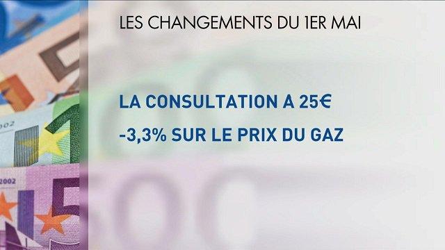 Ce qui change au #1erMai  #consultation #gaz