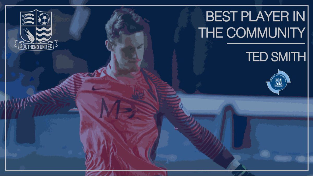 🏆  Winner of the Best Player in the Community is Ted Smith 🔵⚽  #BluesG...