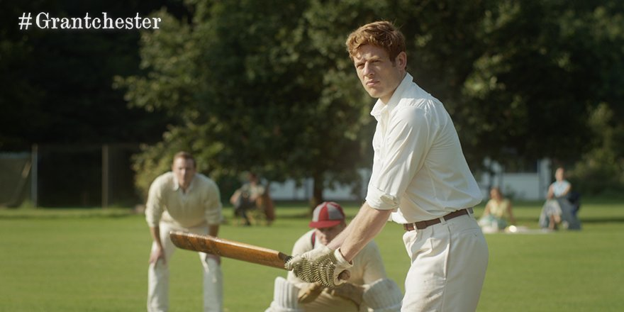 The game is on in #Grantchester over on @ITV now... https://t.co/gqBKo...
