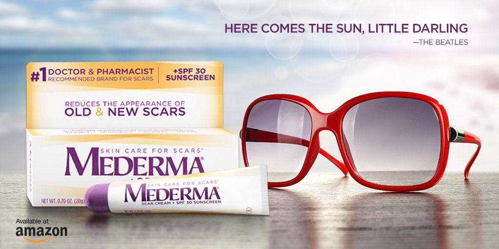 Mederma On Twitter Here Comes The Sun Mederma Scar Cream Plus Spf 30 Helps Protect Skin From Sunburn Makes Scars Less Noticeable Https T Co Tv0hoxxrfe Https T Co Eiaympt292