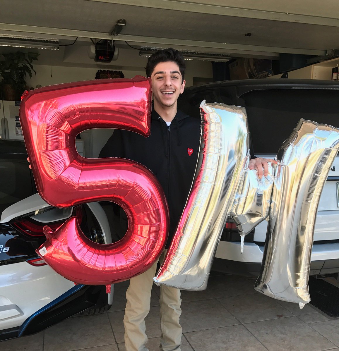 The 5 Million Subscriber man: FaZe Clan's very first. Congratulations,...