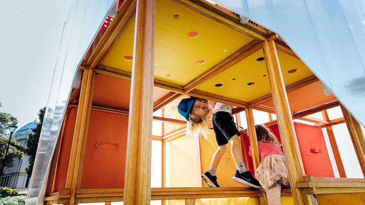 This hackable playhouse turns kids into architects https://t.co/mjIHZBe84n