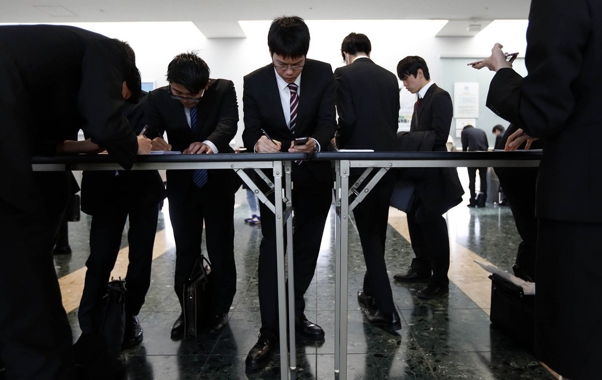 Japan's labor shortage is prompting a shift to hiring permanent workers https://t.co/vwPqLMAUEs
