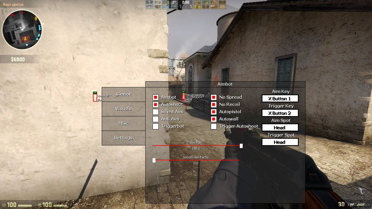 aimbot cs go source code