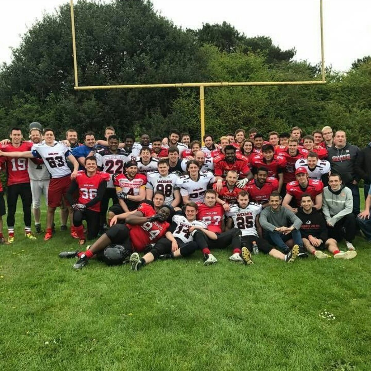 Image result for warwick wolves american football