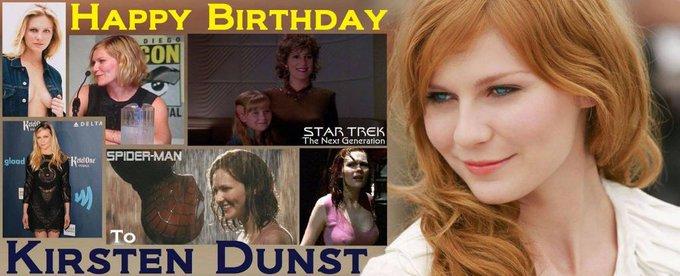 4-30 Happy birthday to KirstenDunst.