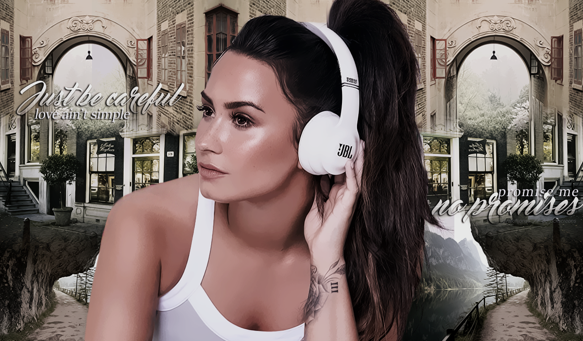 "demi lockscreens ✨ on twitter: ""demi lovato (no promises) wallpaper"