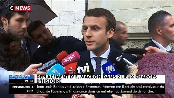 Emmanuel Macron au mémorial de la Shoah https://t.co/nvKFfNkobo #EmmanuelMacron #Paris