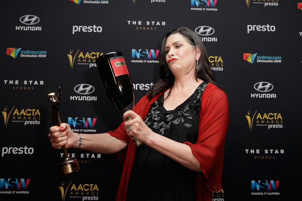 Happy birthday to the marvelous Pamela Rabe! She deserves everything with the amount of talent she holds.